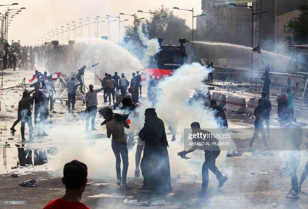 IRAQ-DEMO-UNREST : News Photo