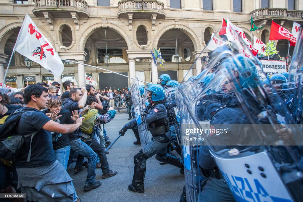 May Day In Turin : News Photo