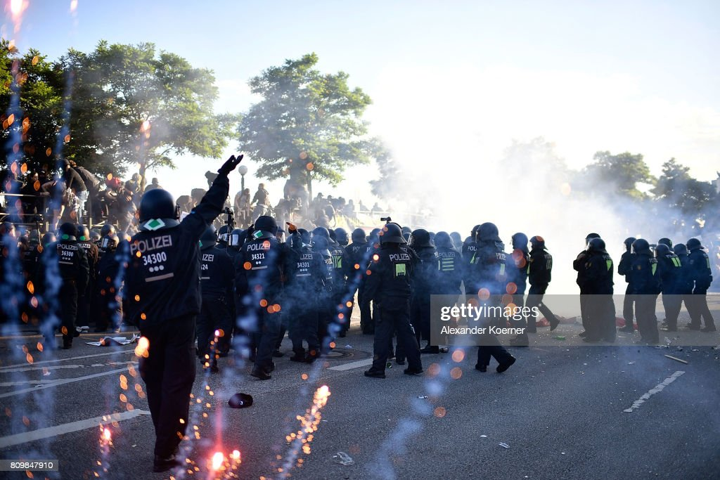 Protesters March During The G20 Summit : News Photo