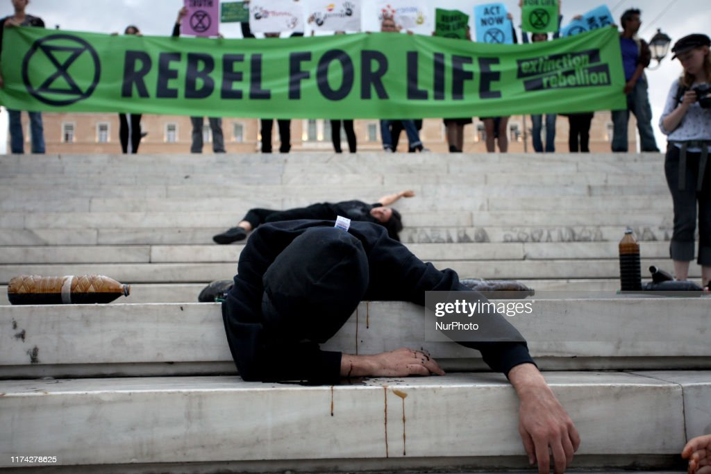 Extinction Rebellion Planned Protests In Athens : News Photo