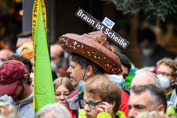 DEU: Greens Party Holds Closing Election Campaign Rally In Dusseldorf