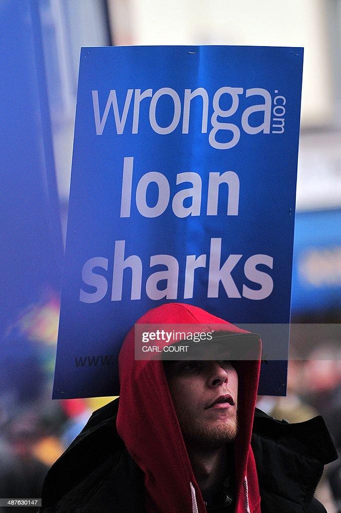 BRITAIN-FINANCE-PROTEST : News Photo