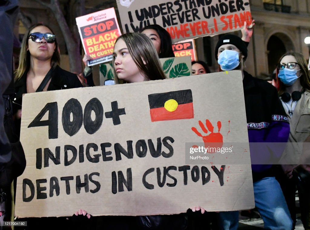 Demonstration For George Floyd In Sydney : News Photo