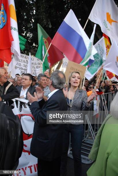 CONTENT] protesters demonstrating against the bank levy in Cyprus which took place because of the decision of the Eurogroup within the crisis of the...
