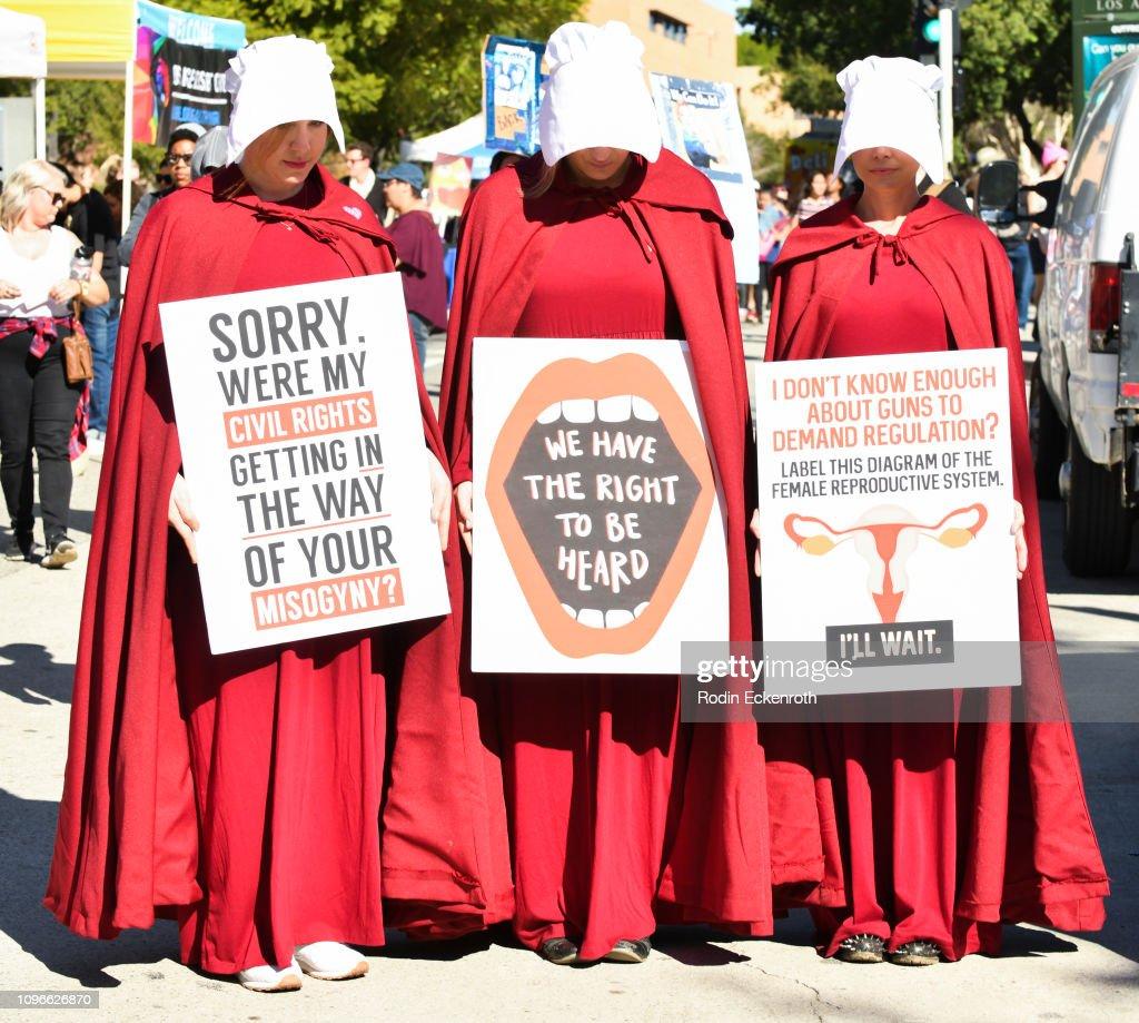 Women's March California 2019 - Los Angeles : News Photo
