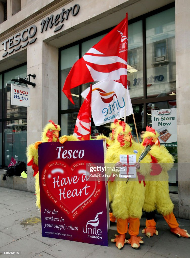 Tesco Protest Pictures Getty Images