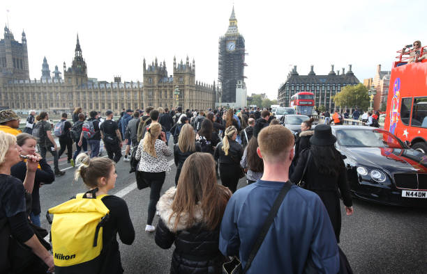 GBR: Official Voice March For Freedom From Covid Restrictions