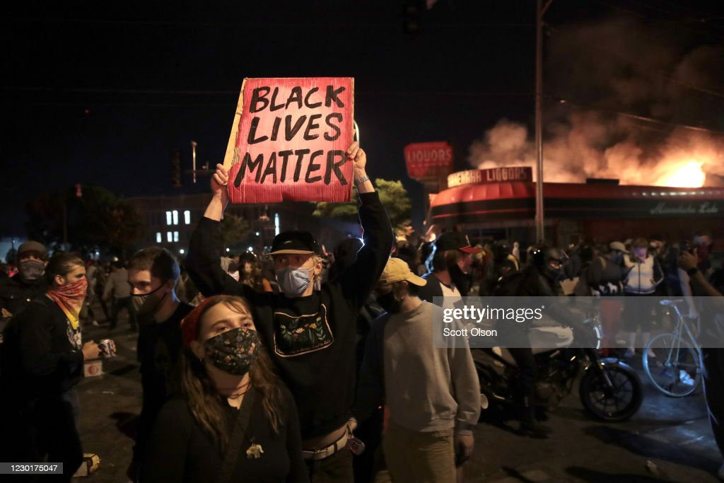 Protests Continue Over Death Of George Floyd, Killed In Police Custody In Minneapolis : News Photo