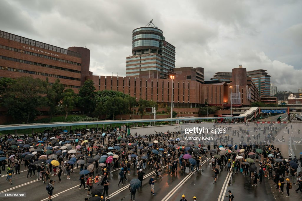 Unrest In Hong Kong During Anti-Extradition Protests : News Photo