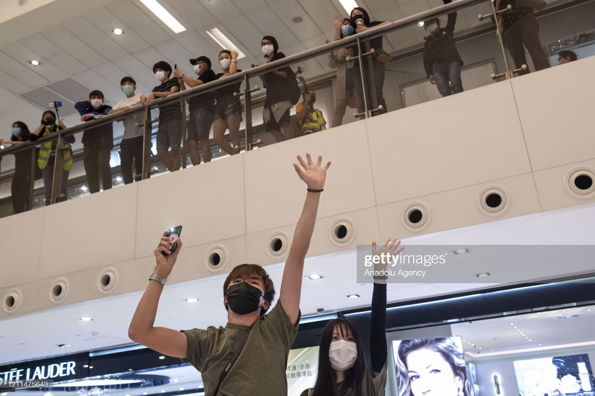 Demonstration in Hong Kong : News Photo