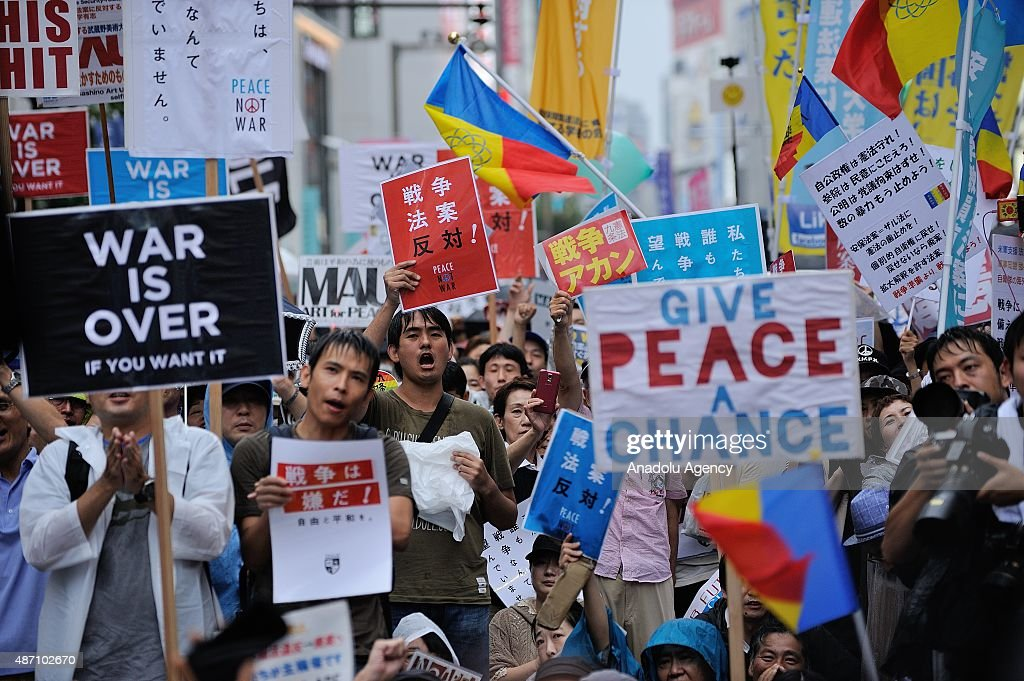 Anti-government protest in Tokyo : News Photo