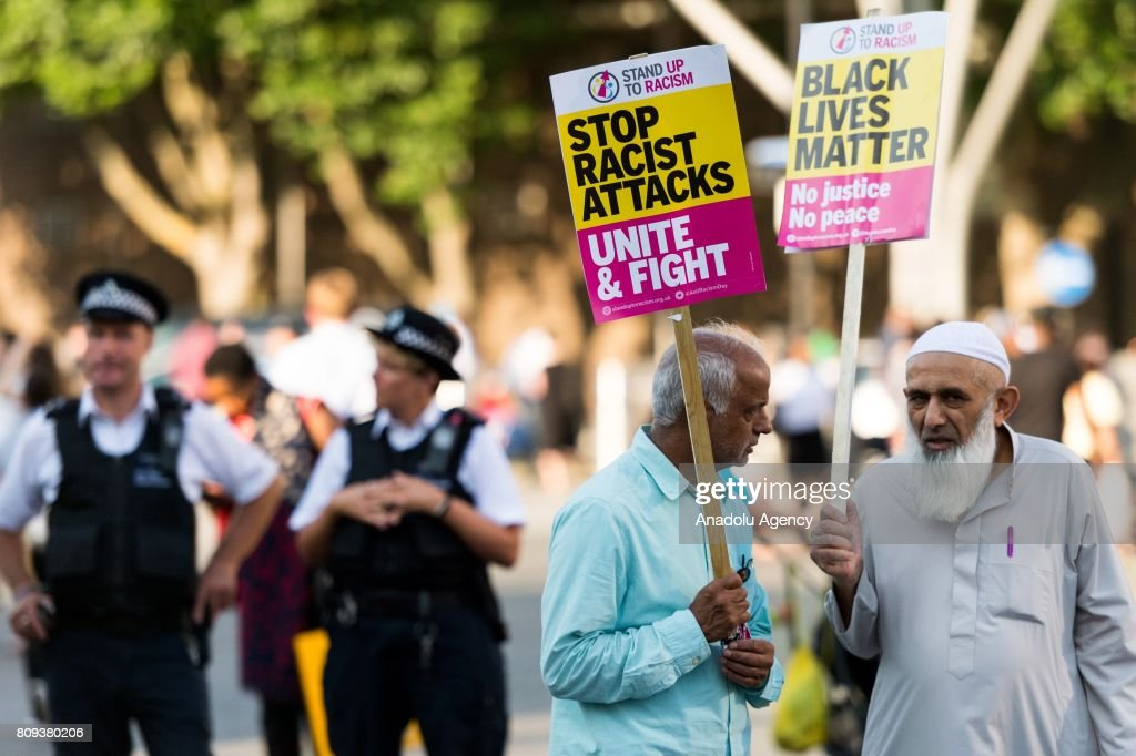 Protest against Islamophobia in London : News Photo