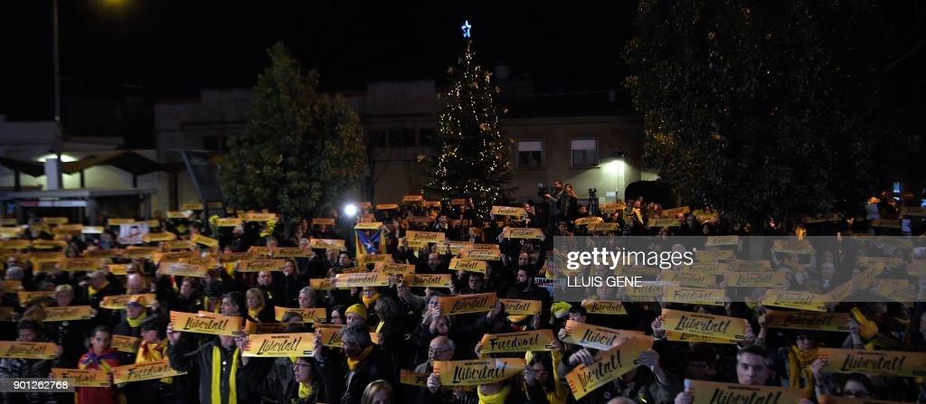 SPAIN-CATALONIA-POLITICS : News Photo