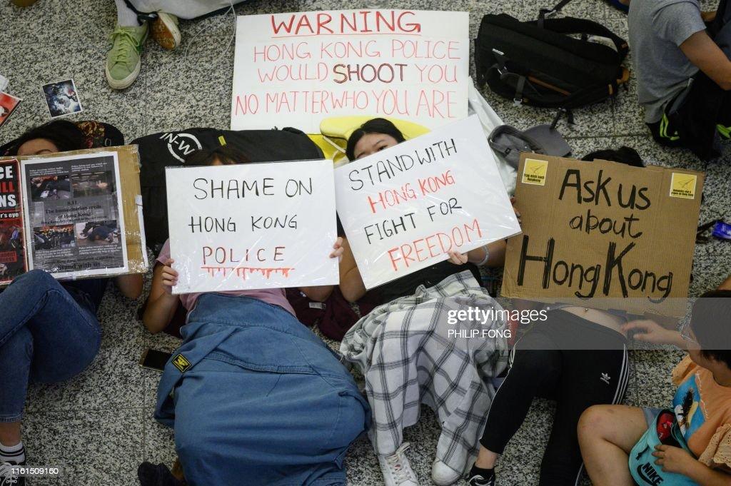 TOPSHOT-HONG KONG-CHINA-POLITICS : ニュース写真