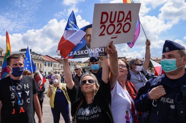 POL: Polish President Duda Campaigns In Runoff Election Amid Polarized Electorate