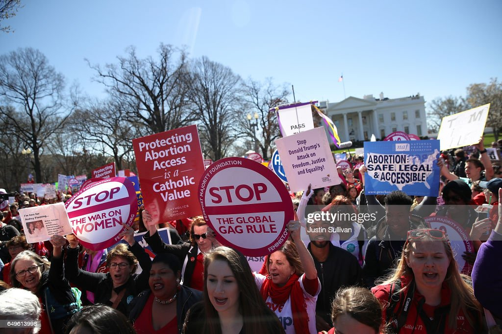 International Women's Day Marked With Rallies And Protests Across The Country : News Photo
