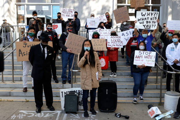 CA: Activists Rally For AAPI Crime Victims At San Francisco Courthouse