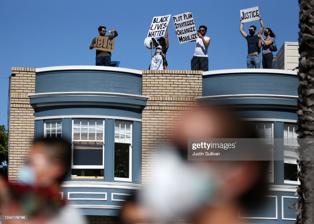 Protest Continue In San Francisco Over Death Of George Floyd In Minneapolis : News Photo