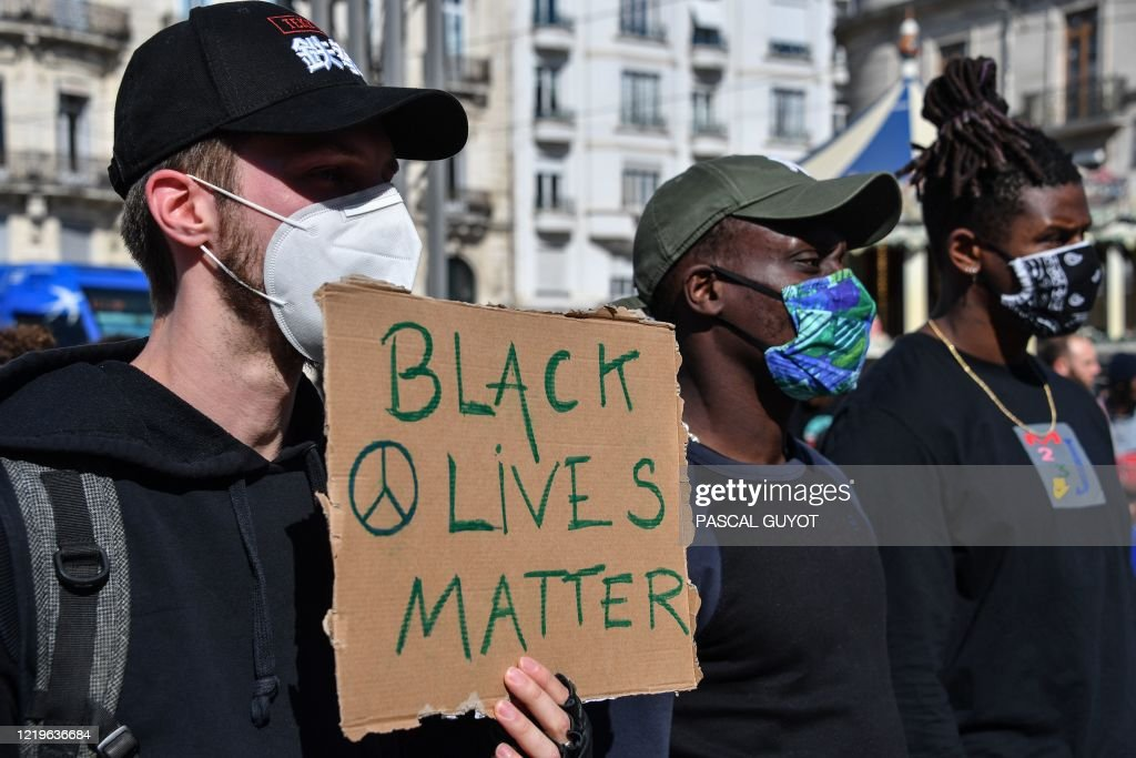 FRANCE-POLITICS-RACISM-POLICE-PROTEST : News Photo