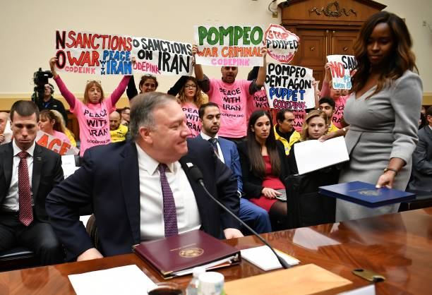 DC: Secretary of State Mike Pompeo Testifies Before House Foreign Affairs Committee