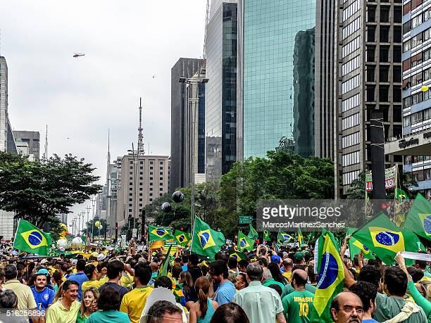 forma alguma, no brasil, contra presidente dilma dilma rousseff (10 - politics - fotografias e filmes do acervo