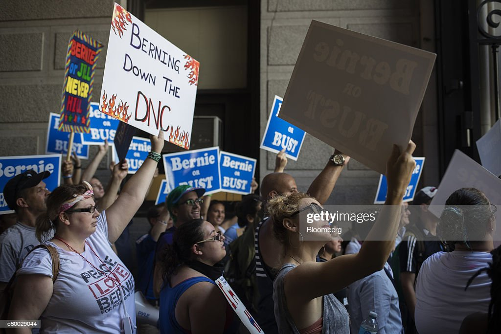 The 2016 Democratic National Convention : News Photo