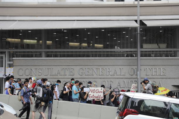 HKG: Hong Kong Protesters Call on G-20 Members for Global Intervention on Extradition Bill