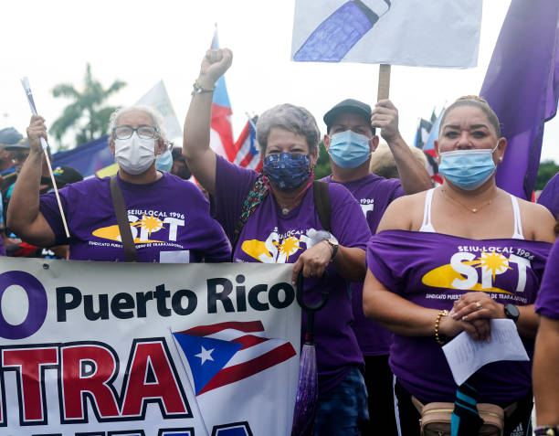 PRI: Puerto Ricans Protest Island's Power Outages