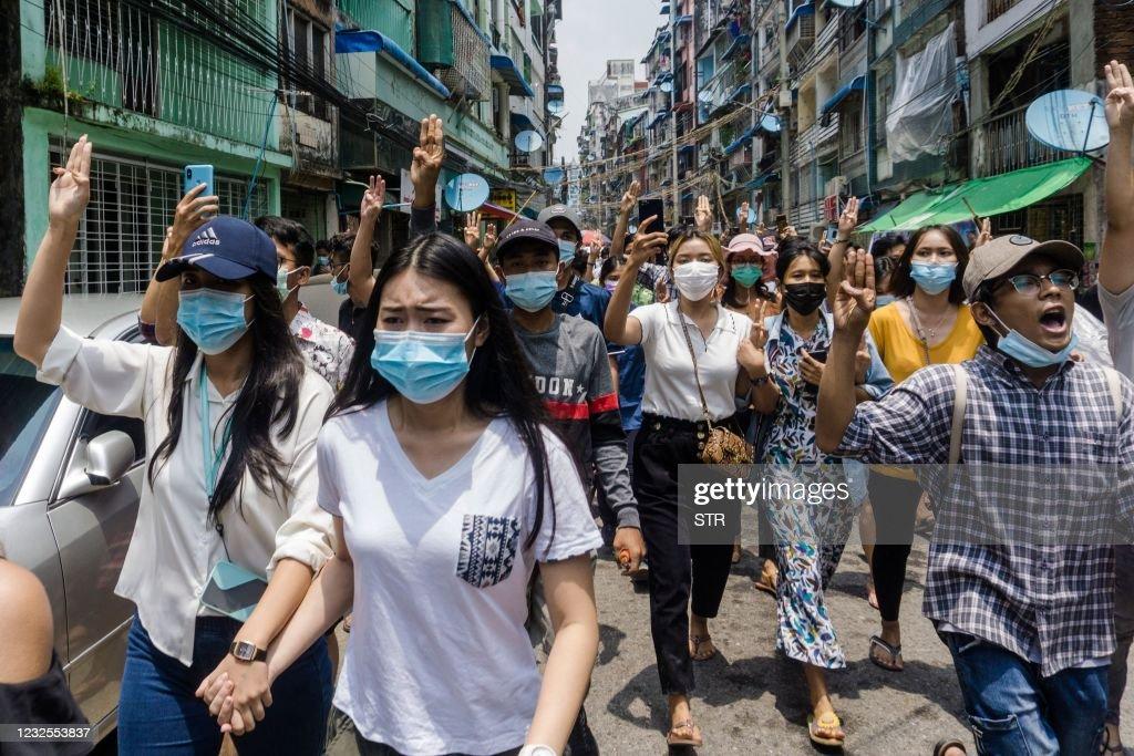 MYANMAR-POLITICS-MILITARY : News Photo