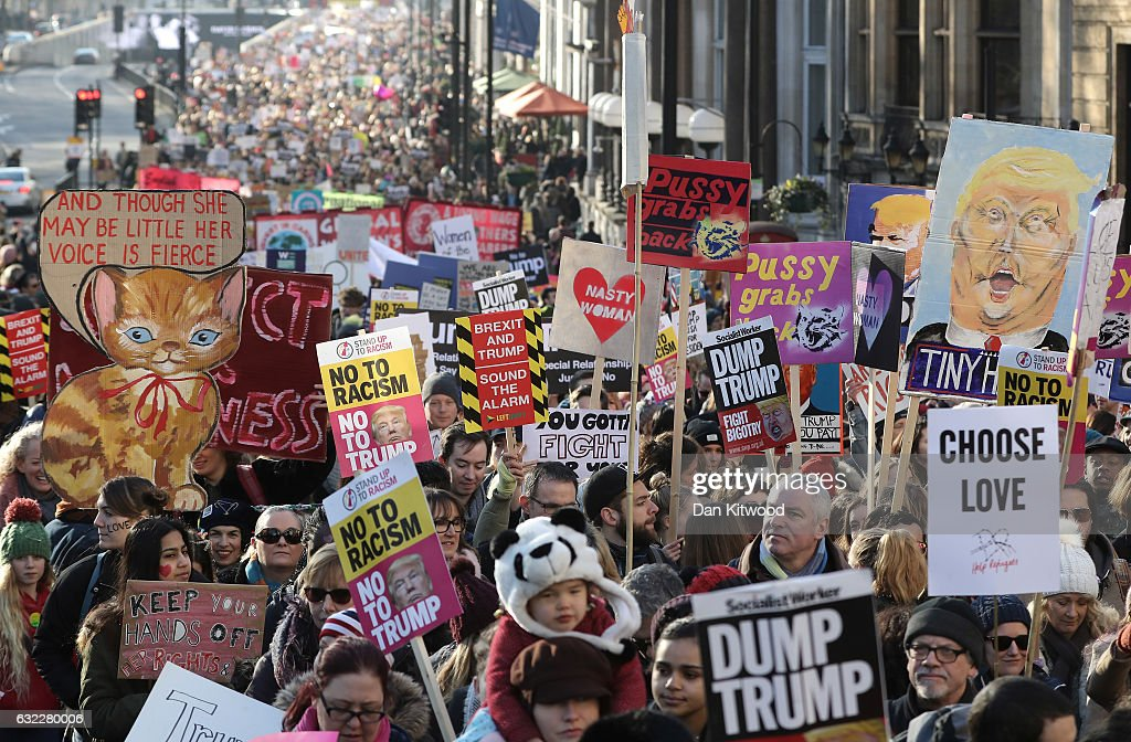 Women's March On London : News Photo