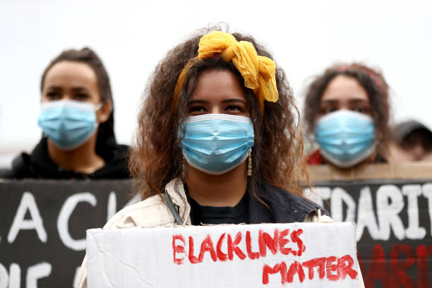 NZL: Auckland Black Lives Matter Rally Held In Solidarity With U.S. Marches