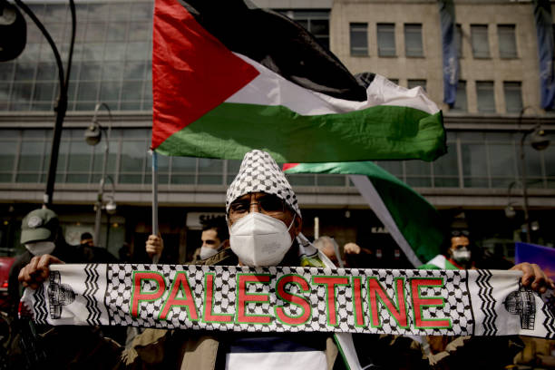 DEU: Pro-Palestinian Protests In Berlin