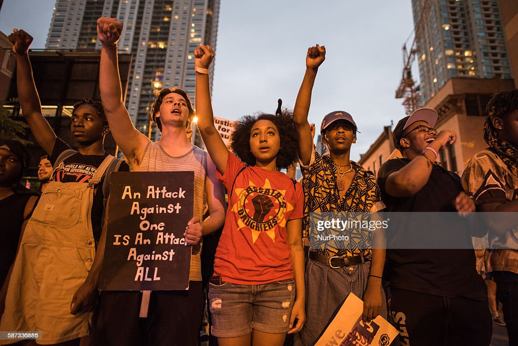 Youth Activists Lead March Against Police Brutality : News Photo
