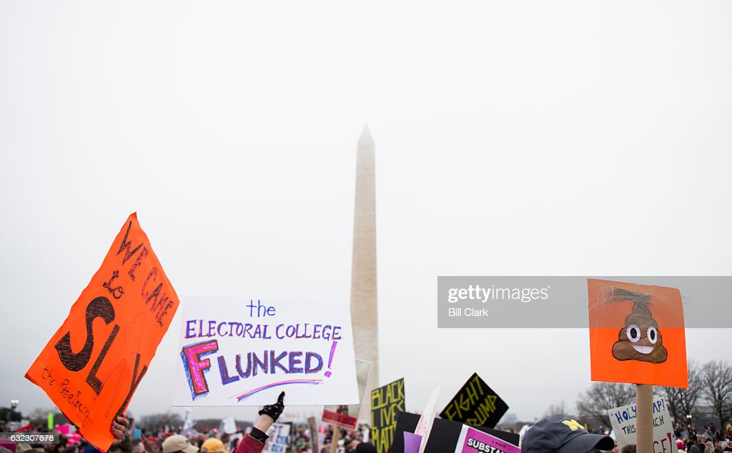 Women's March on Washington : News Photo
