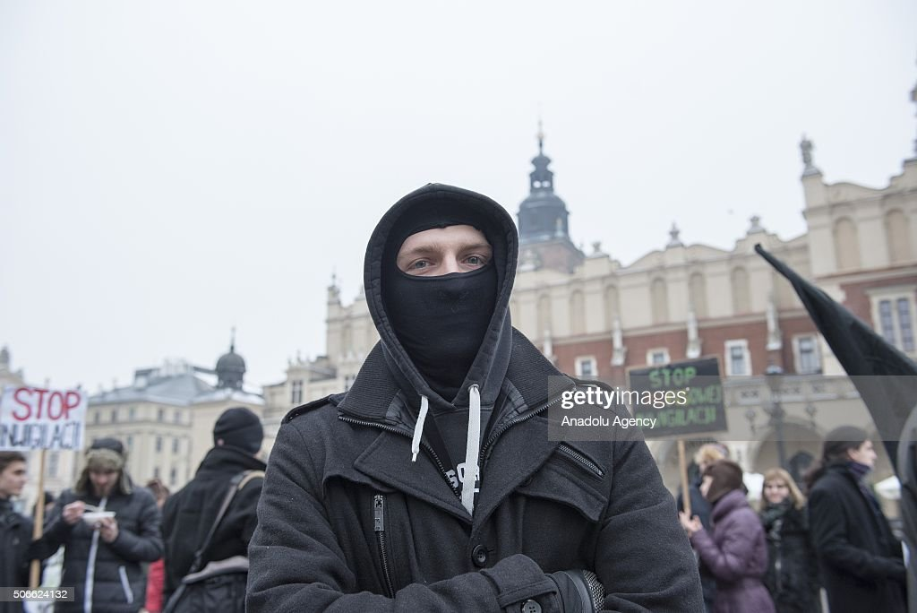 Anti government protest in Poland : News Photo