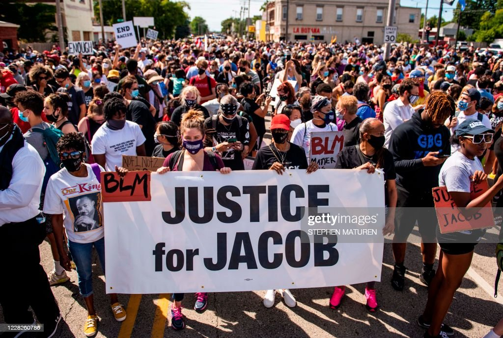 US-POLICE-RACISM-PROTEST : News Photo