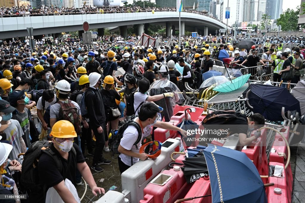 HONG KONG-CHINA-POLITICS-CRIME : News Photo