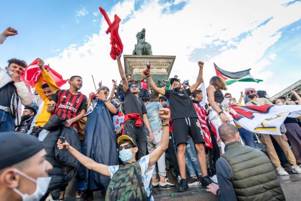 ITA: Palestinian Solidarity Protest In Milan