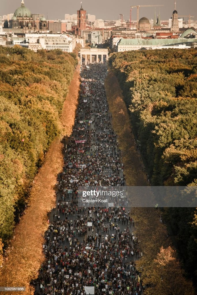 Large-Scale Protest March For An Open Society : News Photo