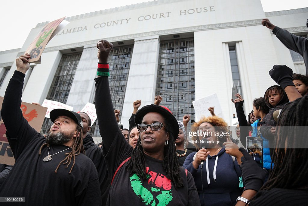Protesters Stage Nationwide Marches In Wake Of Recent Grand Jury Decisions : News Photo