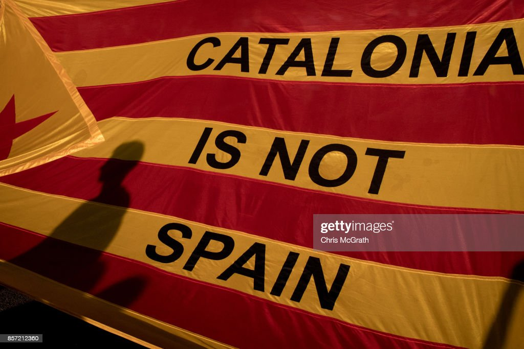 Aftermath Of The Catalonian Independence Referendum : News Photo