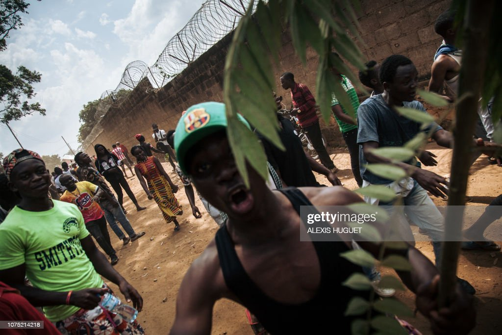 DRCONGO-POLITICS-UNREST : News Photo