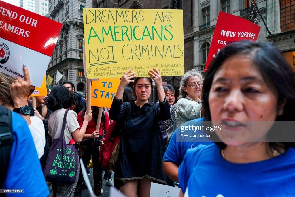 US-POLITICS-IMMIGRATION-PROTEST : News Photo