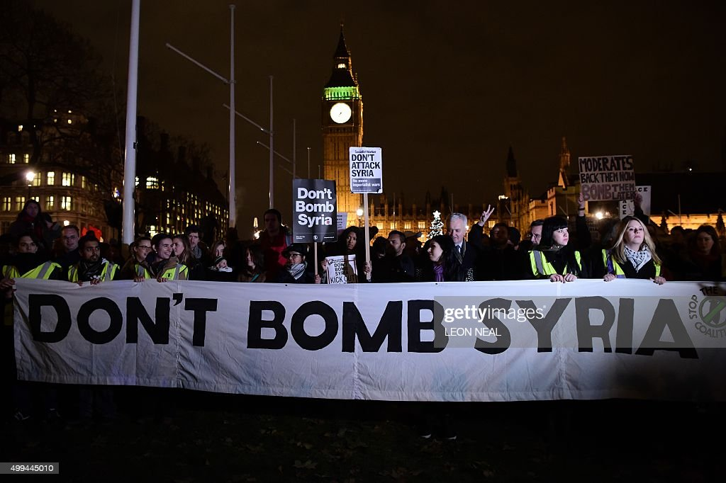 BRITAIN-SYRIA-CONFLICT-POLITICS : News Photo