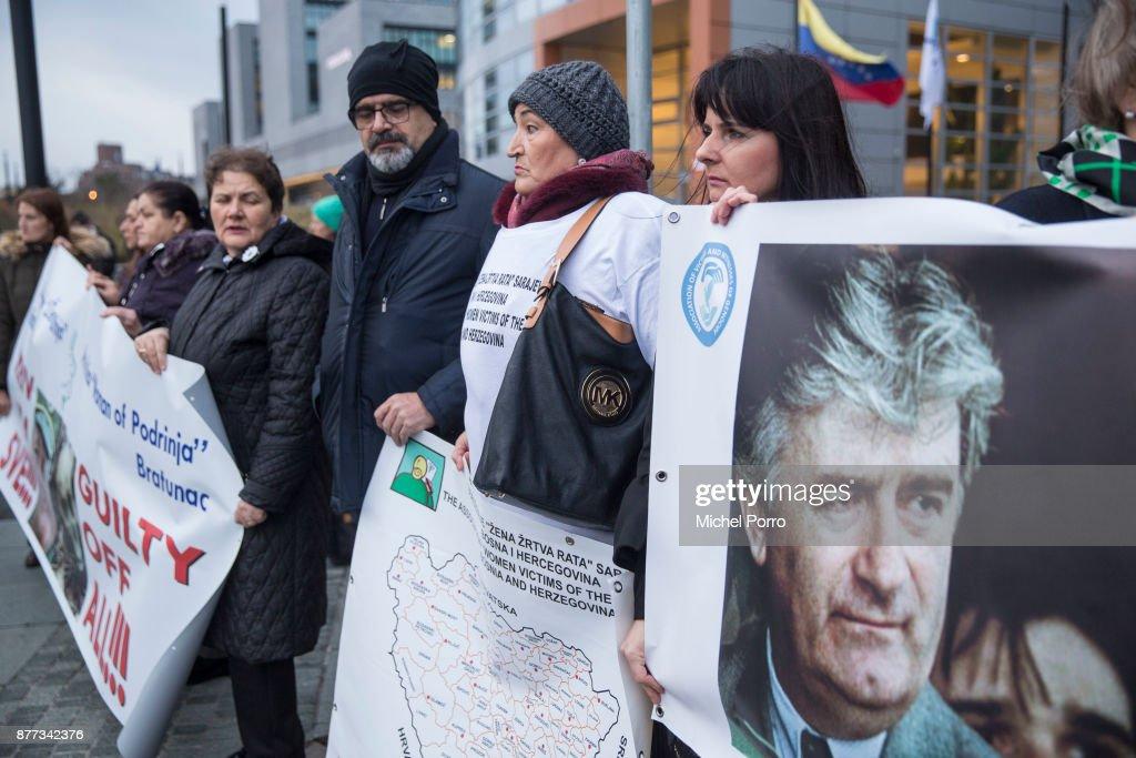 Verdict Announced In Ratko Mladic War Crimes Trial : News Photo