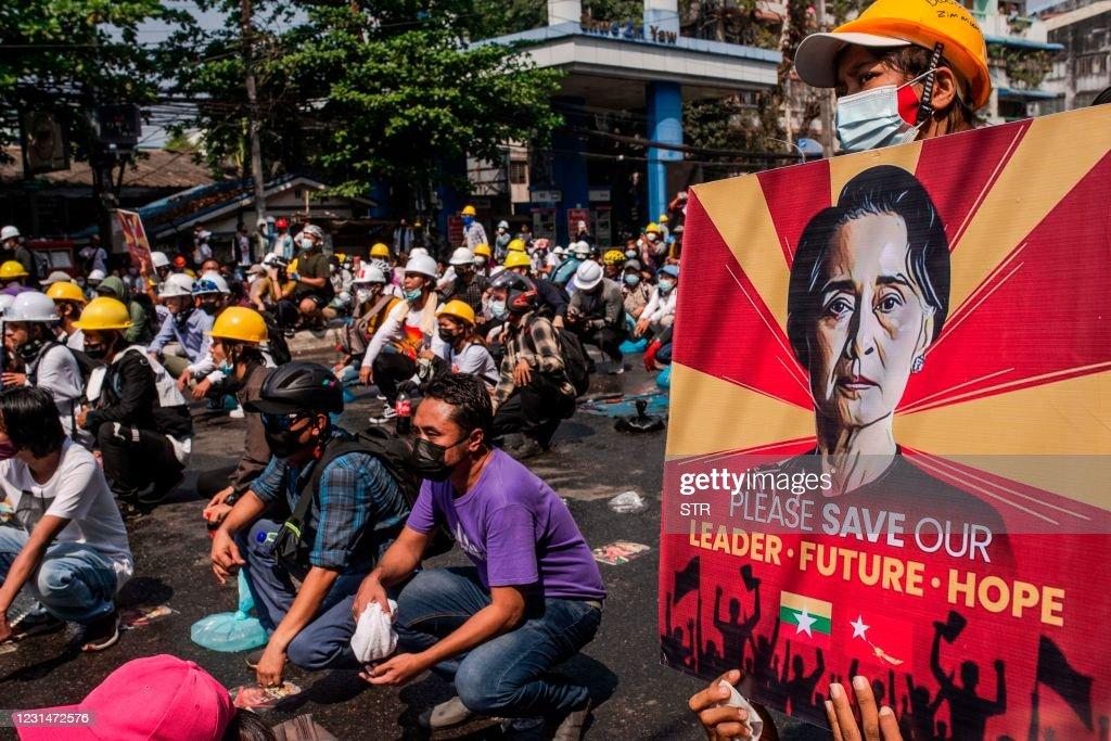 MYANMAR-POLITICS-MILITARY : Nachrichtenfoto
