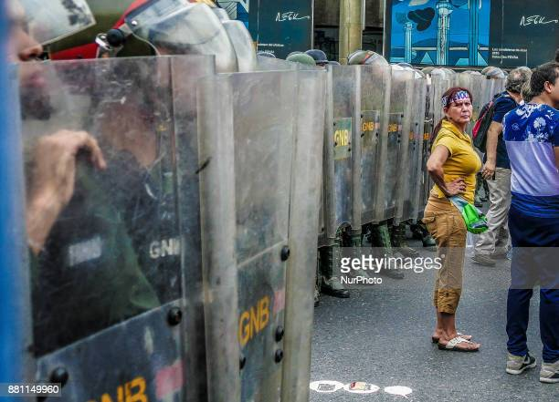 Protesters took to the streets of Caracas for several months to protest against the government of President Nicolas Maduro According to nonprofit...