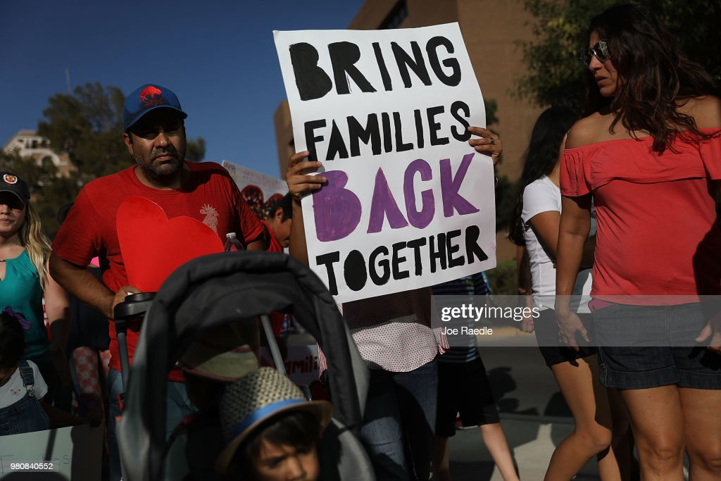 Activists In El Paso March To Protest Immigrant Family Separation