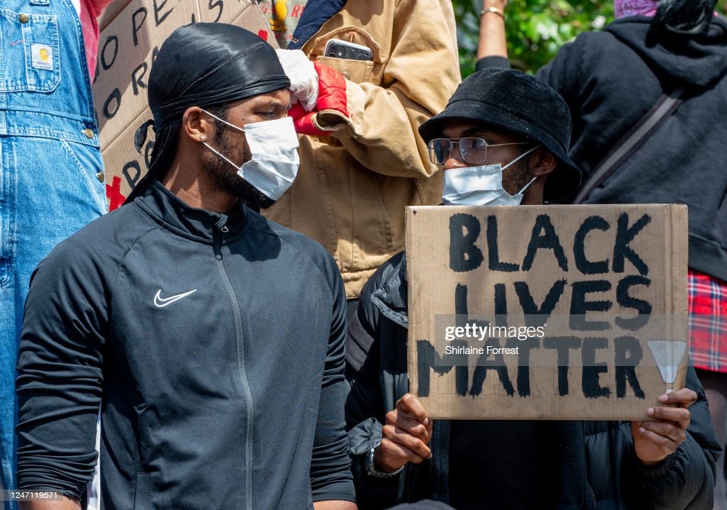 Black Lives Matter Demonstrations In UK Continue Into The Weekend : News Photo