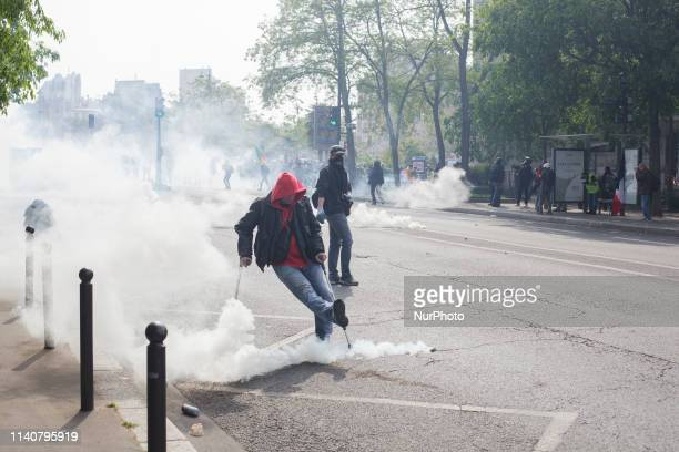 Protesters would not give the police an inch it became a fight for every part of the street during May 1st For May Day or Labour Day thousands of...